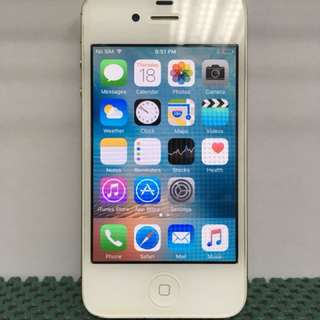 iPhone 4S 8/16/32/64GB White