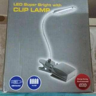 夾夾led燈 Usb或電芯