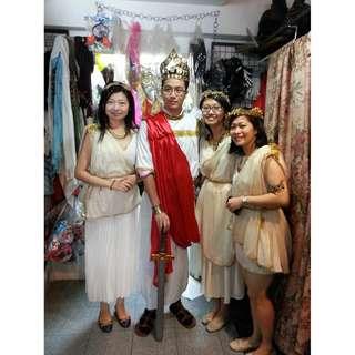 Greek Costume Rental