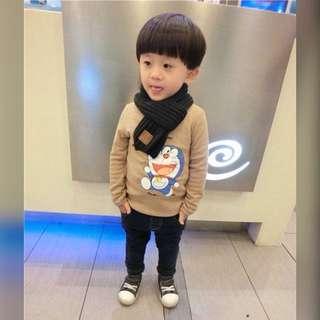 ★★★網路人氣爆款 韓版兒童秋冬保暖圍巾★★★