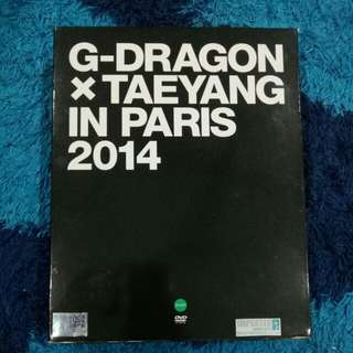 G-DRAGON X TAEYANG IN PARIS 2014