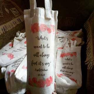 Customized Wine Bag