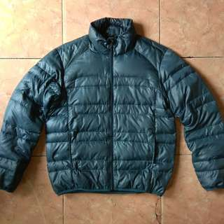 Jaket Bulang Navy Produce not Uniqlo Goose Down