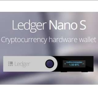 Ledger Nano S (Pre Order)
