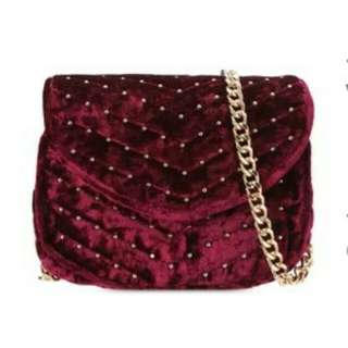 Something borrowed sligbag-Baldu maroon-