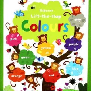 Usborne Lift-the-Flap Colors