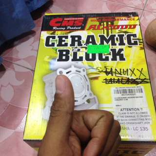 Cms ceramic block 62mm lc135 with forged piston