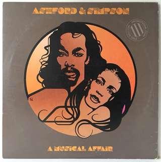 Ashford & Simpson – A Musical Affair (1980 US Original - Vinyl is Mint - Rare Promo Copy)