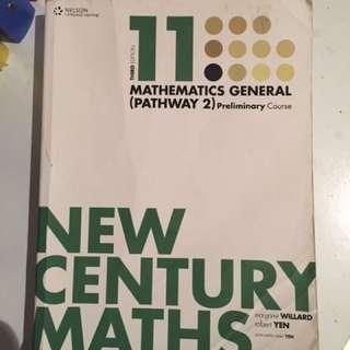 11 New Century Maths (Gen2)