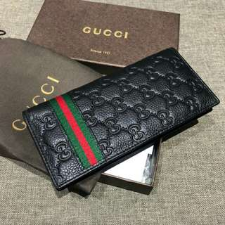 Gucci Long Wallet Black