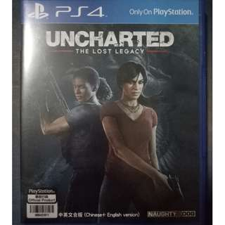 PS4 w/ DLC - Uncharted - The Lost Legacy