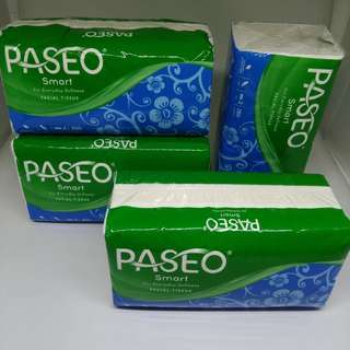 Tisu Paseo Smart 250 sheets 2 ply