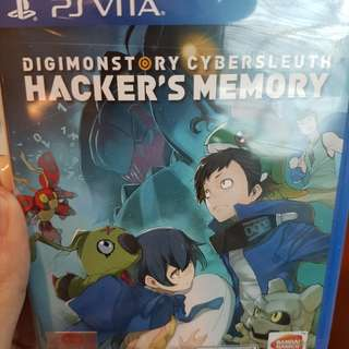 Digimon hacker's memory