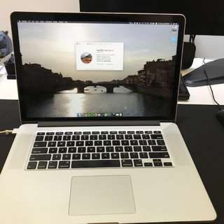 Selling MacBook Pro 2015