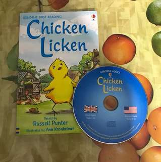 PL usborne first reading chicken licken