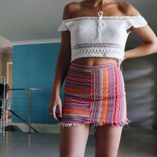 Groovy colourful skirt