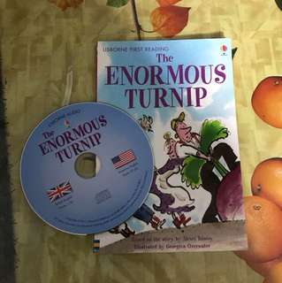 PL usborne first reading The enormous turnip