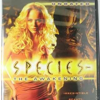 DVD 異種4 喚醒 Species The Awakening 荷李活 電影 科幻恐怖劇情片 中文字幕 包平郵