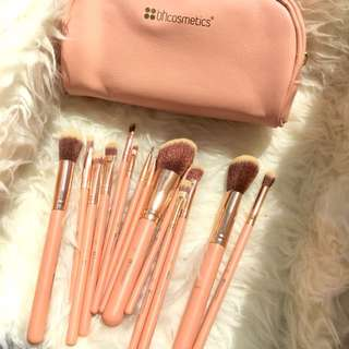 BH Cosmetics Pink A Chic Brush Set