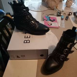 Brand new studded boots