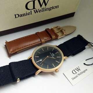 Daniel Wellington DW Hitam