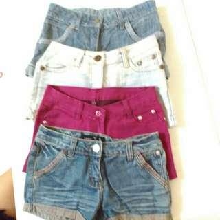 Unbranded short shorts. ❤
