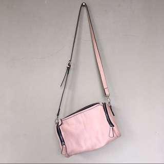 ASOS Drum Sling Bag Baby Pink