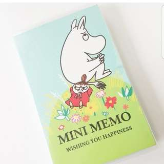 Moomin Sticky Notes, Super Cute Self-Stick Notes in Different Shapes, Colorful Super Sticky Notes for Students, Home, Office