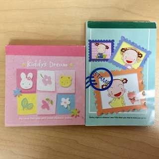 可愛兔仔 100款圖案 記事簿 Notebook Memo Pad 信紙 小禮物 Small gift