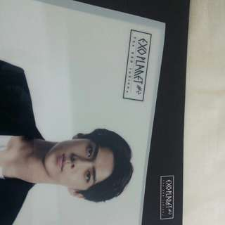 EXO Sehun official L-holder / file holder (4pcs)