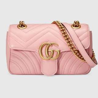 Gucci Marmont matelasse mini bag