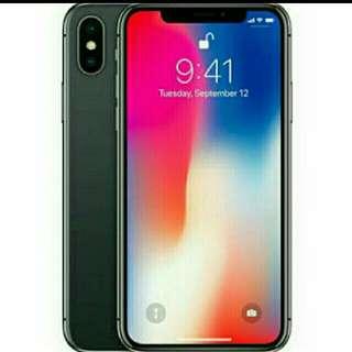 Iphone X 256Gb Grey New Kredit Hp Cicilan 0%, Proses Cepat
