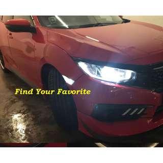 Honda Civic FC side marker on T10 type 6leds MAXIMUM 5630 SMD white - cash&carry