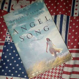 ANGEL SONG by SHEILA WALSH & KATHRYN CUSHMAN / NOVEL BOOK