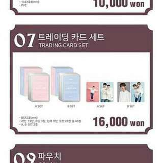 [FAST PREORDER/ LIMITED STOCK ALERT] Seventeen - Carat Land Trading Card Set