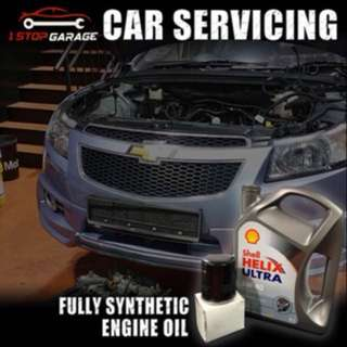 Car servicing package