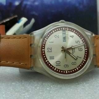 Swatch standar gent with day n date