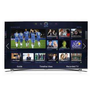 Samsung 55 Inch HD LED Smart Features Free Wall Mount