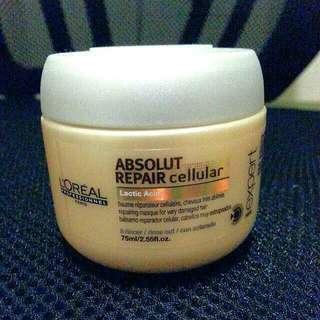Loreal 強效修護髮膜 Absolut Repair cellular