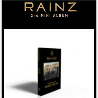 RAINZ 2ND MINI ALBUM