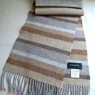 (95%New 超長 厚)Chanel Vintage Scarf 頸巾 圍巾