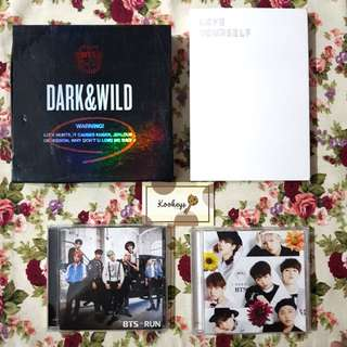 [WTS FAST] Combo 4 BTS Albums + Free Postage!!!