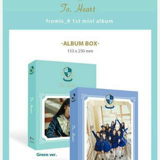 FROMIS 9 1ST MINI ALBUM - TO HEART