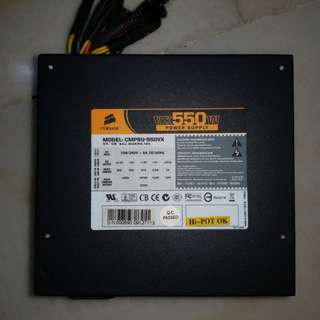 Corsair VX550 power supply