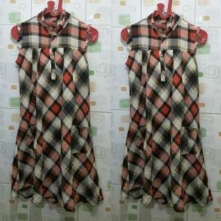 DRESS SQUARE CANTIK