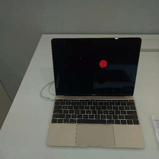 "kredit Macbook pro 12"" Gold Tanpa kartu kredit"