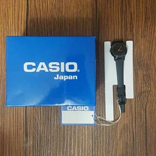 Casio Womens Black Resin Strap Watch