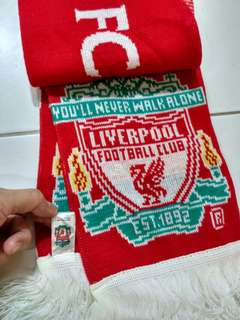 New Liverpool football club scarf