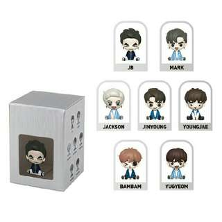 [G.O] GOT7 Gotoon Figure Turbulence Version