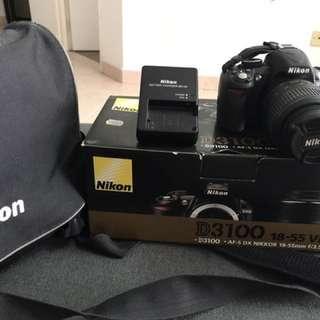 NIKON D3100 + extra
